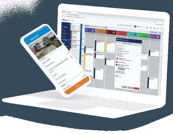 Field Service Software Dashboard