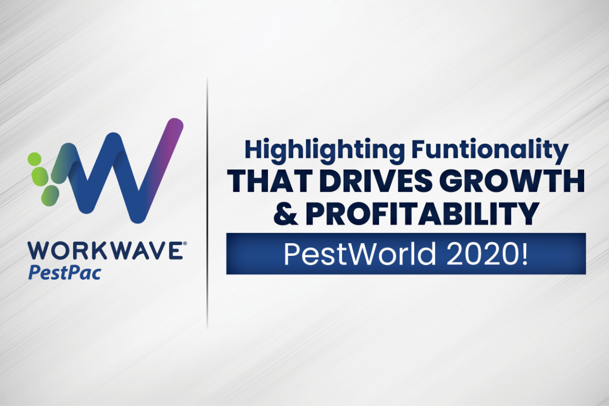WorkWave to Showcase its Latest Pest Industry Benchmarking Data at This Year's Virtual PestWorld 2020